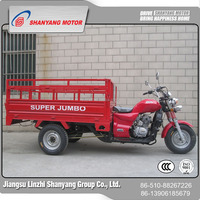 300cc 200cc 250cc Scooters 3 Wheelers with 2 Seats for Cargo and Passengers/ Three Wheel Motorcycle Cargo Tricycle with Cabin