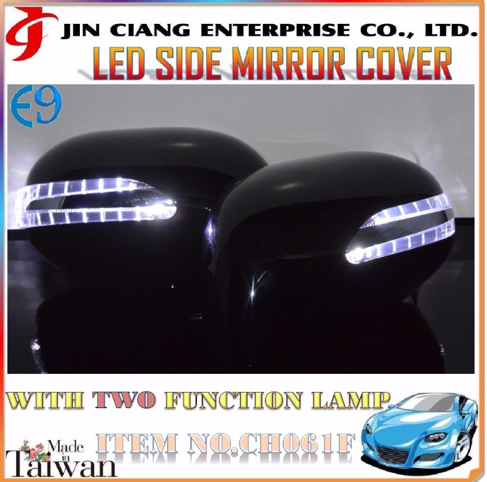 Car Body Parts LED SIDE VIEW MIRROR COVER For E11 K12 NOTE MARCH