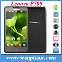 "Hot sales lenovo P780 mtk6589 quad core 1GB RAM 4GB ROM 1280*720 pixels 5.0"" screen"
