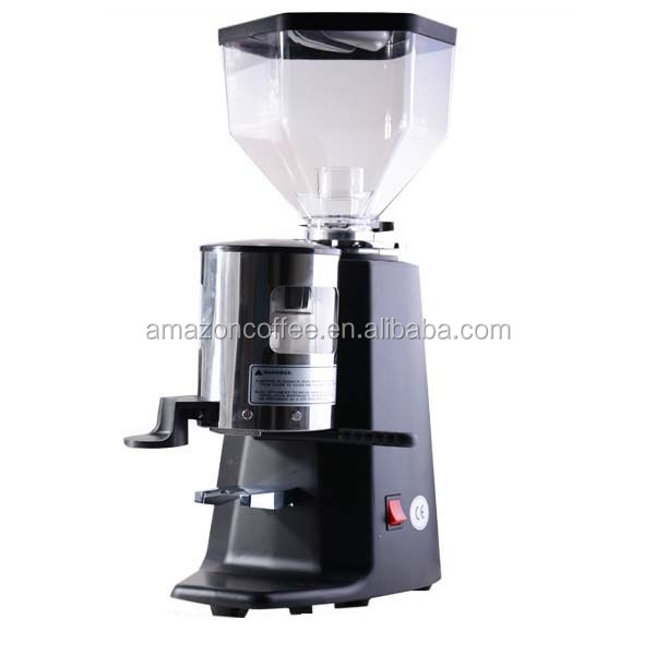 Commercial Semi- Automatic Professional Flat Burr Grinder/ Coffee Grinder Machine