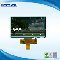 Lowest Price for car backup camera dvd 7.0 inch lcd display panel