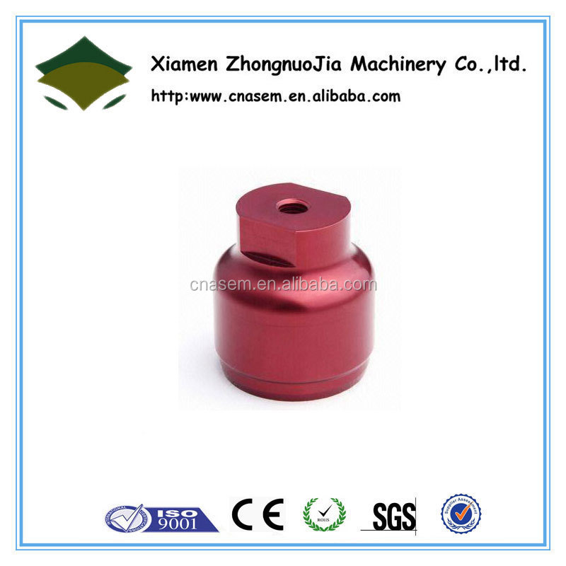 CNC Machining Process and Red Anodize Surface Boat Part
