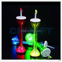 Tall Colorful Plastic LED Yard Cups
