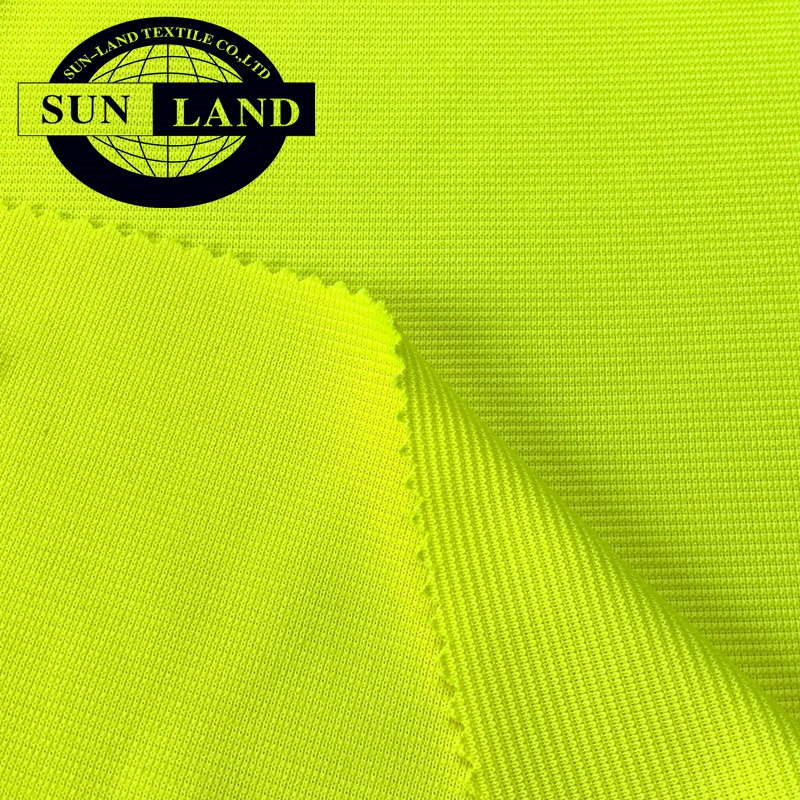 Chinese circular knit mill weft knitted sports clothing 100 polyester interlock jersey fabric