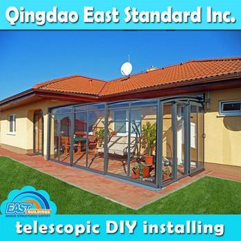 East standard retractable portable outdoor room buy for Portable garden room