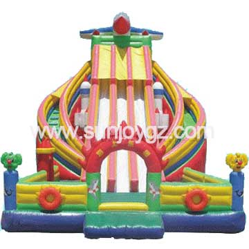 Commercial Inflatable Bouncer Combo Jumping Games for Sale