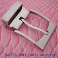 2017 Hot selling fashion zinc alloy belt hardware metal pin buckle for belt