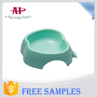 China Wholesale Plastic Products 2016 Popular Apple Shaped Pet Feed Bowls