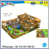 Castle kids playground indoor mcdonalds indoor playground