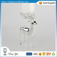 Manufacturer hot sales Deer Shape Blank Metal Craft Christmas Gift for Ornament