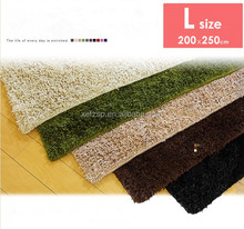 sheep skin 100% polyester microfiber big rugs