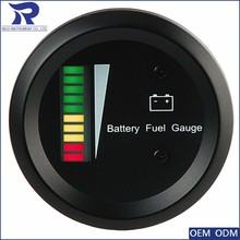 52mm Digital battery powered speedometer Level Charge Indicator Gauge