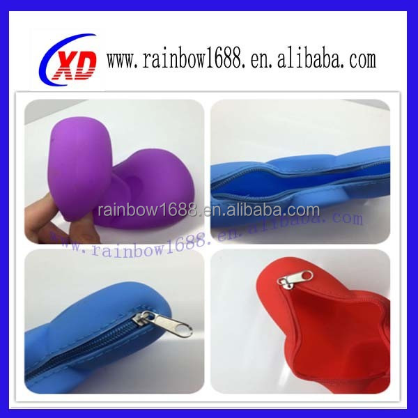 Hot Selling Colorful Bulk Wholesale Silicone Coin Purse