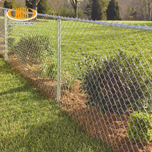 China cheap electro galvanized painted chain link fence