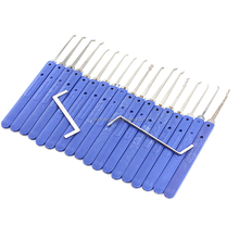 Alibaba China supplier 18pcs KLOM for Locksmith Tools Lock Pick Set Shopping Online