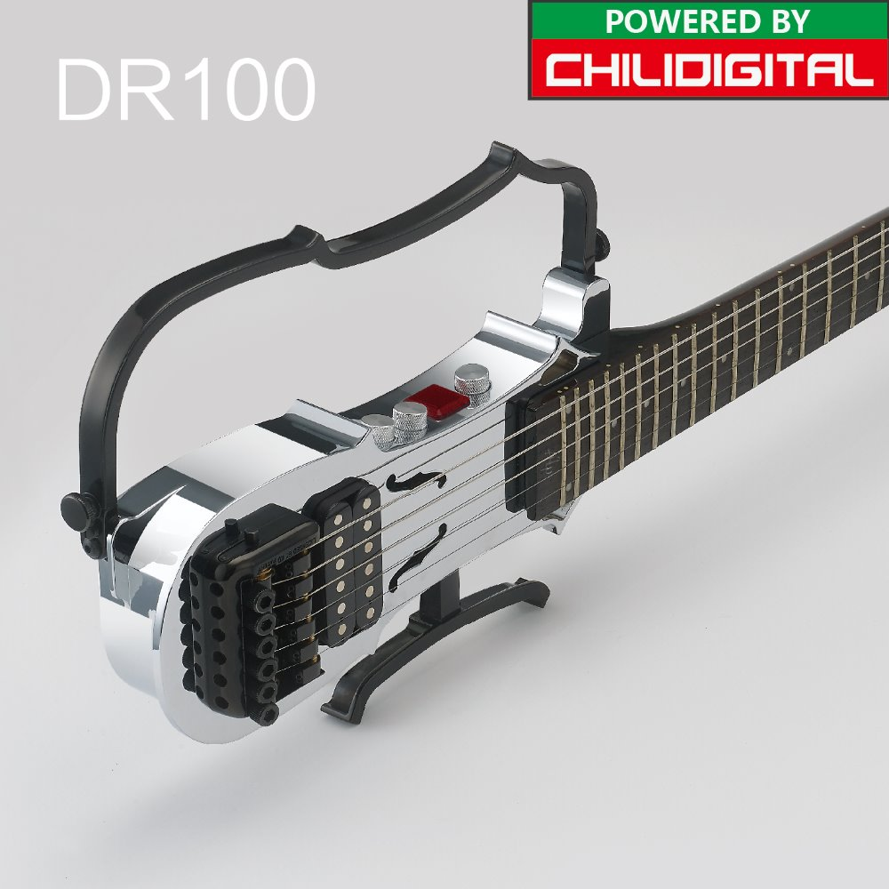 DR100 ALP Travel electric headless guitar