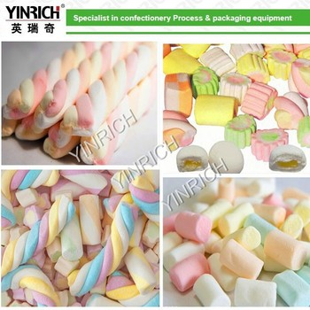 EM120 Complete Extruded Marshmallow machine