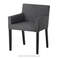 Modern Wood Frame Arm Chair Living