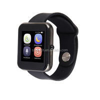 "1.54"" cheap IPS touch screen bluetooth smart watch phone with slim design"