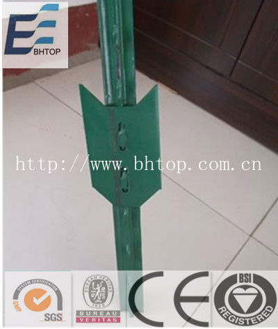 steel T fence post