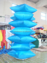 New design LED light inflatable pillar inflatable led ivory balloon for advertising