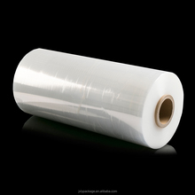 2017 China manufacturer LLDPE Film Transparent Stretch Film roll Tear resistance packing film