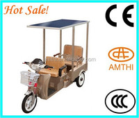Solar Electric Tricycle For Passenger Three Wheel Electric Vehicle,High Quality Three Wheel Mini Truck,Amthi