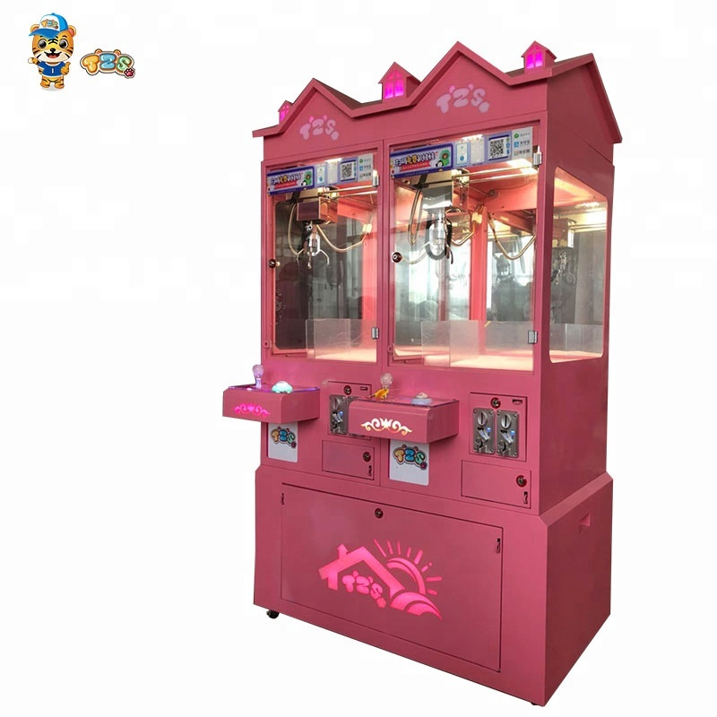 TZS new design happy castle Coin Operated Game Machine Claw Toy Crane