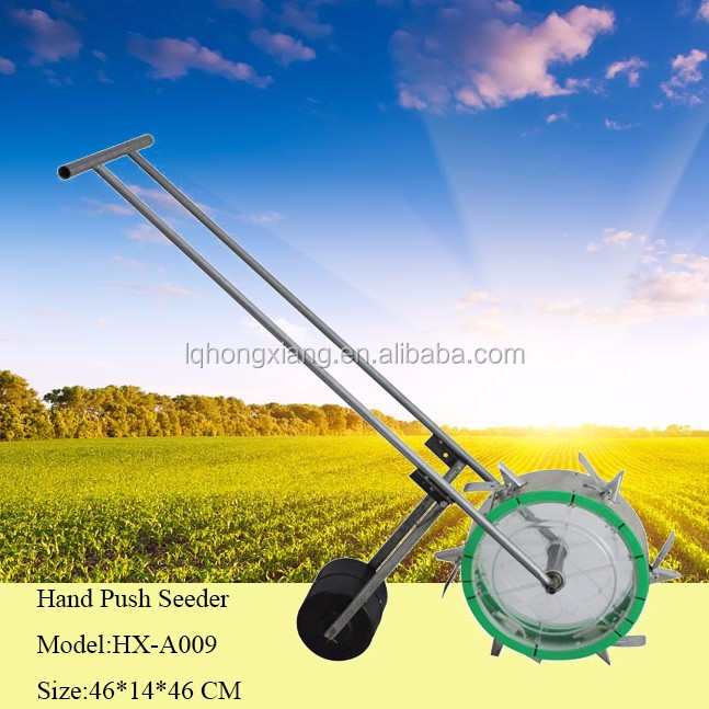 Manual corn soybean seeder/seed planter/disc seeder