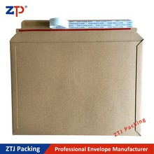 Kraft paper stay flat mailers envelopes high quality Fedex mailing bags
