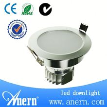 90lm/W Anti-fog 7W high power LED down light for sale