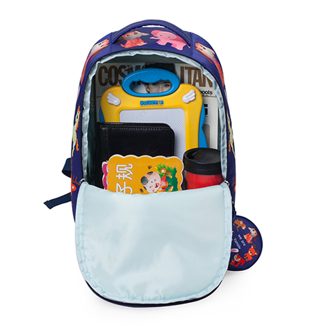 2017 most popular cute girls kids cartoon picture of school bag