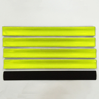 wholesale promotional reflective plastic armband/wristband/snap band
