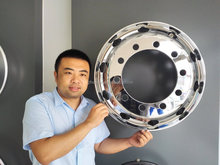 We are wheels factory ---------- 24.5x8.25 trailer wheels, 285.75 mm PCD, 221mm center bore.