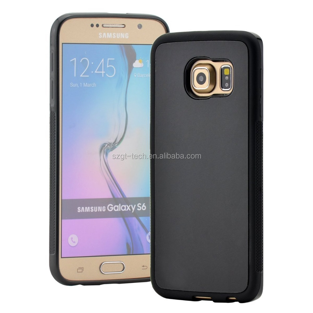 Nano Suction Anti Gravity Hybrid, Slim Fit Heavy Duty case for Samsung galaxy S6