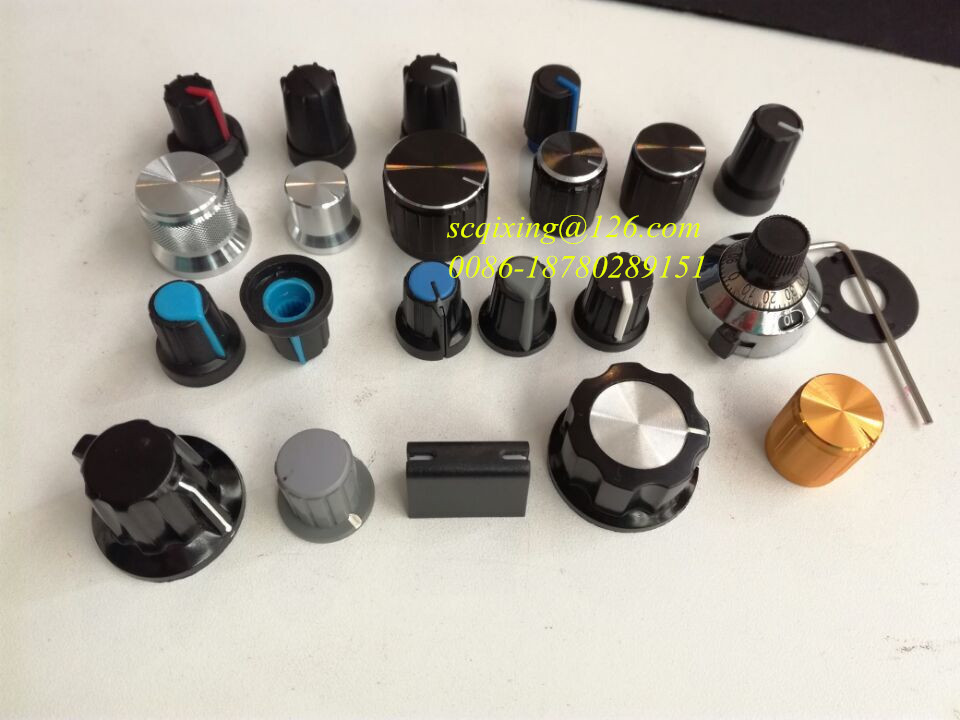 knob for D shaft/round shaft/knurled shaft 6mm 6.3mm encoder knob potentiometer knob
