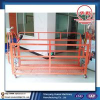 ZLP400 hanging low cost steamship plastic spraying painting ISO iron scaffolding
