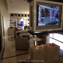 Ribbon Intelligent Bio Ethanol Fireplace AF120 With Remote