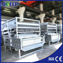 Automatic Belt Filter Press For Sludge Dewatering