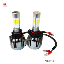 40W 4000LM V8 led cars headlight 5202/H16 car front light wholesale
