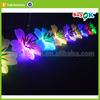 led inflatable flower chain wedding stage decoration with flowers