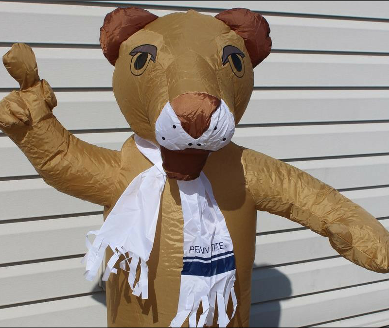 Attractive funny inflatable lion nittany cartoon figure, Inflatable nittany lion model / character for sale