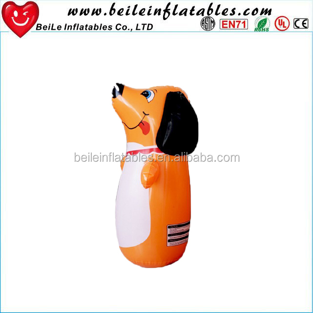 Factory sale cute dog shaped PVC Inflatable roly-poly