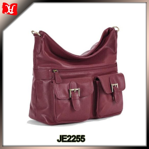 women stylish soft leather shoulder camera shoulder bag