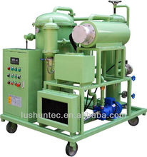 ZRG Multi function lube oil purifier/turbine oil recycling plant