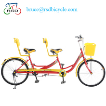 china factory offer 26 tandem bike, tianjin double seat tandem bicycles,quadricycle for sale tandem bicycle
