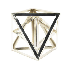 Best Selling Custom Wholesale Supplier Art And Craft Geometrical Metal Art modern Sculpture For Home Decoration