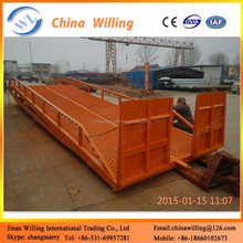 10t Moblie loading dock ramps/hydraulic pump for car lift/Ramps