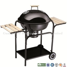 Brand new porcelain enamel paint bbq grill with customized logo
