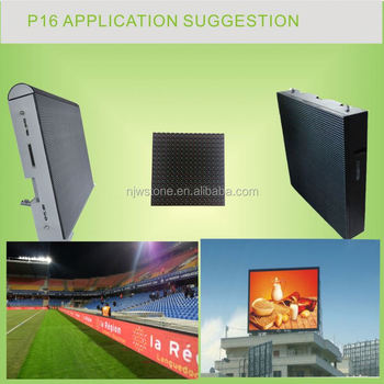 video/text/movie P16 outdoor led banner display